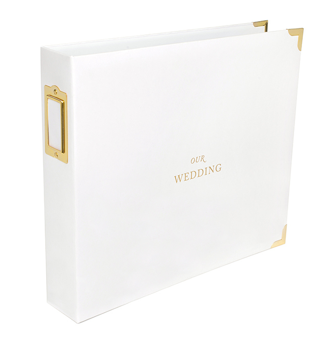12 X 12 Wedding Or Special Occasion 3-Ring Binder
