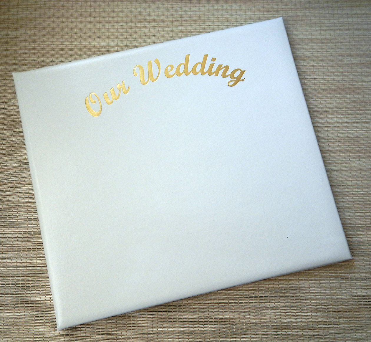 Our Wedding 12 x 12 Scrapbook
