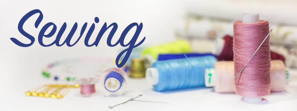 Sewing - Fabrics, Thread, Kits