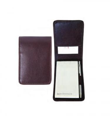Raika Leather Reporter's Pocket Journal