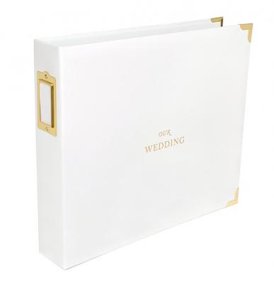 12 x 12 Our Wedding Scrapbook - 3-Ring Binder
