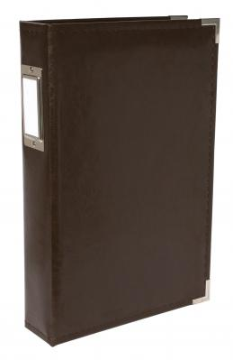 American Crafts Classic Leatherette 3up 3-ring Binder Photo Album