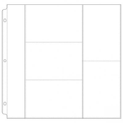 Doodlebug Refill pages work with most 3-ring binder photo albums