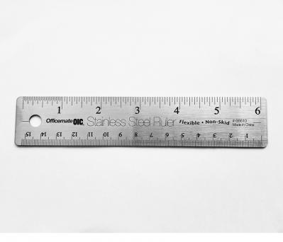 6 inch Stainless Steel Flexible Ruler