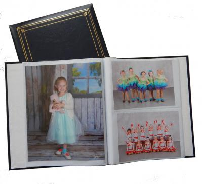 8 x 10 and 5 x 7 Photo Album - Open View