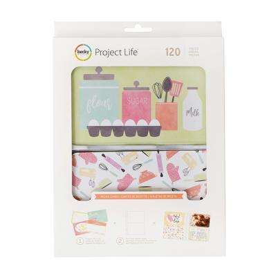 Project Life Utensils Recipe Cards Value Pack