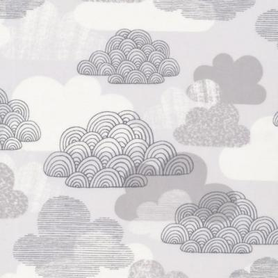 Passing Clouds Matte Laminate Fabric by Cloud 9