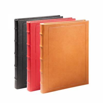 9 in Genuine Leather Hardcover Journal
