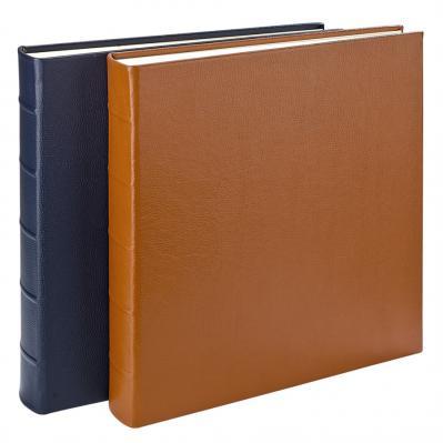 Large 13 x 13 Genuine Leather Scrapbook