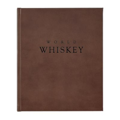 World Whiskey Reference Bound in Genuine Leather