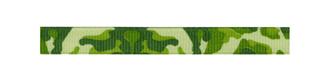 Ribbon - Green Camo Grosgrain