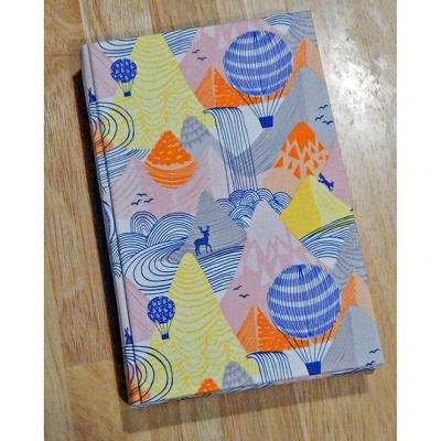 Hot Air Balloon Blank Page Journal