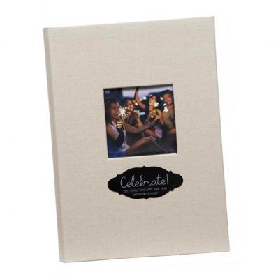Linen Book Bound 3up Photo Album