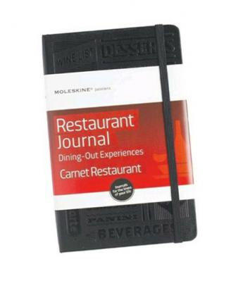 Moleskine Passions Restaurant Journal - Dining Out Experiences