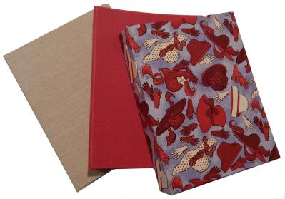 Cloth Covered Half Page 3-ring Binders