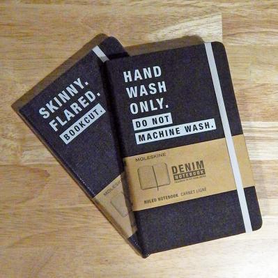 Denim Notebooks by Moleskine