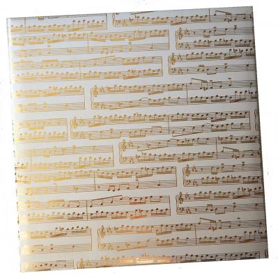 Musical 8.5 x 11 3-Ring Binder