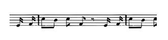 Ribbon - Music Notes Grosgrain