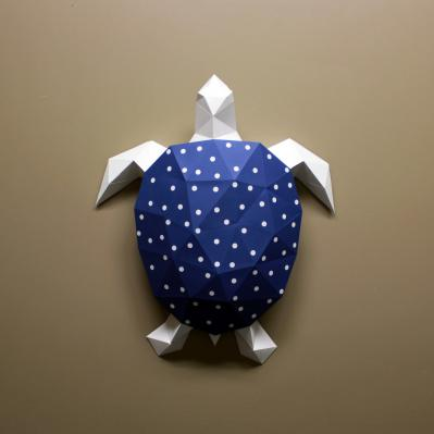 DIY Paper Sculpture Kit - Turtle