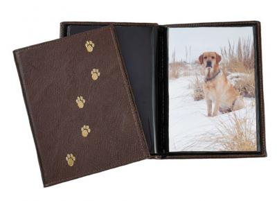 Genuine Leather Paws Brag Book
