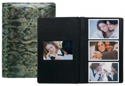 Raika Leather 3 High 4 x 6 Photo Album