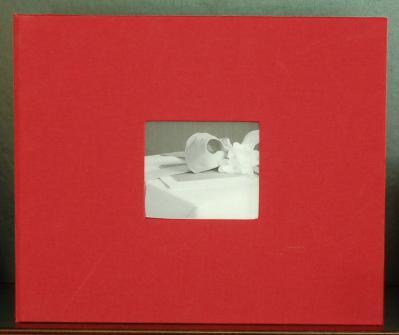 Linen 12 x 12 Scrapbook - Optional Cover Window