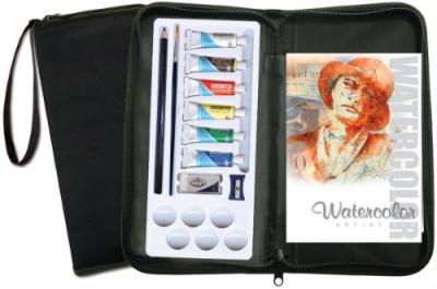 Royal Brush Watercolor Painting Set with carrying case