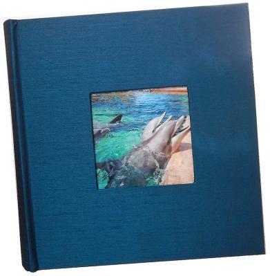 Blue Silk 4x6 Photo Album