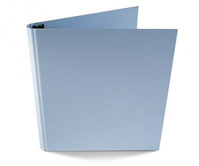 Pastels 8.5 x 11 Binder in Light Blue
