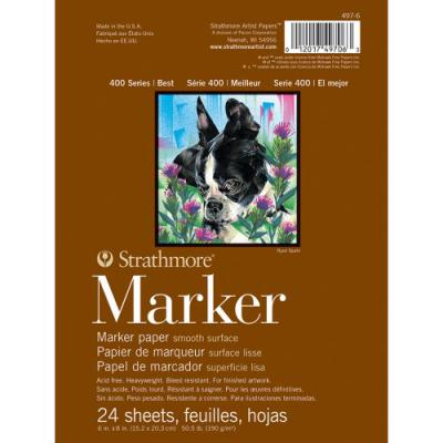 Strathmore 6x8 Marker Paper Pad - 24 sheets