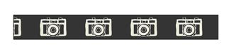 Ribbon - Cameras on Black