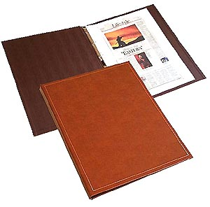 Giant Leather Scrapbook