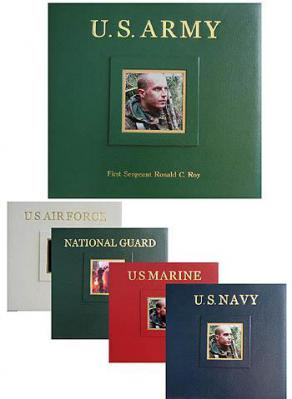 Military Scrapbooks - Limited Quantities