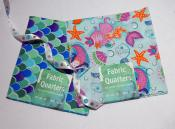 Mermaid Themed Fat Quarters and Ribbon
