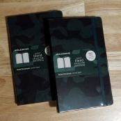 Moleskine Nomad Blend Collection - Green Camo Ruled Notebook