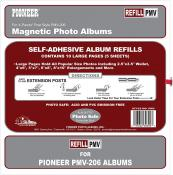 Pioneer Magnetic Page Refill for PMV-206 Photo Albums