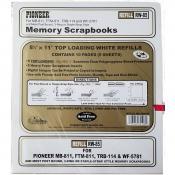 Pioneer 8.5 x 11 Memory Book Refill