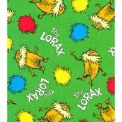 Robert Kaufman The Lorax Fabric