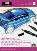 Royal Brush Artist Pad for Color Markers