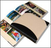 Linen and Leather Photo Album