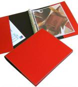Recycled Italian Leather 3-Ring Binder