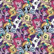 My Little Pony Pack Cotton Flannel Fabric